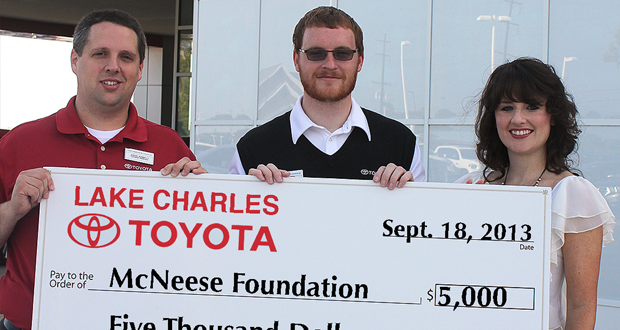 Perfect Lake Charles Toyota Donates To KBYS